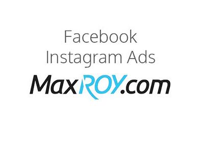 facebook instagram ads maxroy