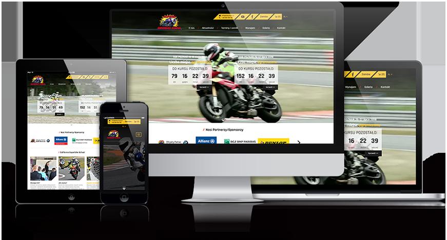 super bike school strona www