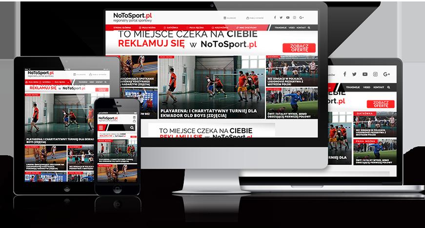 no to sport reklama