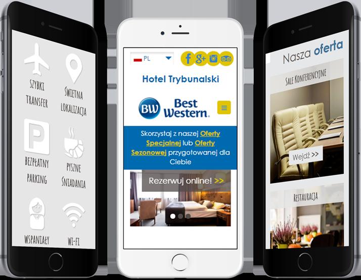 hotel trybunalski mobile