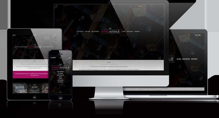 wine avenue strona internetowa